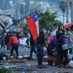 Chile, un millón de evacuados por sismo 8.3