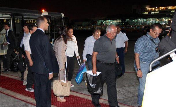 Los cuerpos de los ocho turistas fallecidos en Egipto llegarán hoy a México