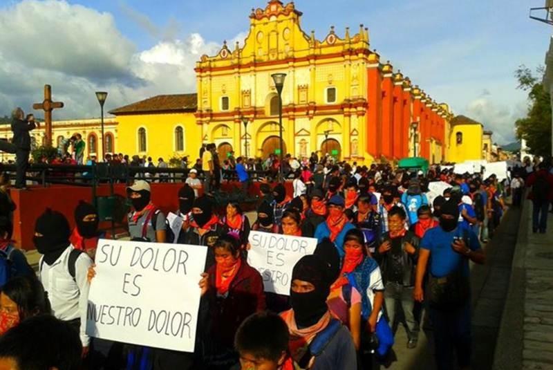 EZLN reprueba ataques contra Arantepacua y contra los pueblos indígenas