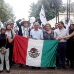 Morena va que vuela a Los Pinos por la vía organizada y pacífica: Batres