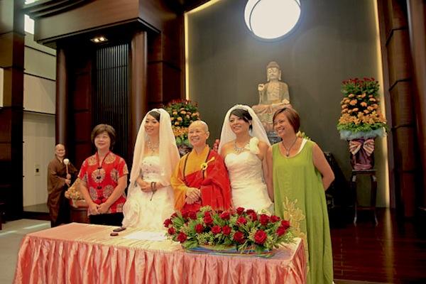Matrimonio Budista : El budismo única religión no homofoba del planeta