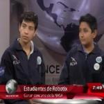 Niños mexicanos ganadores en la NASA piden apoyo para ciencia