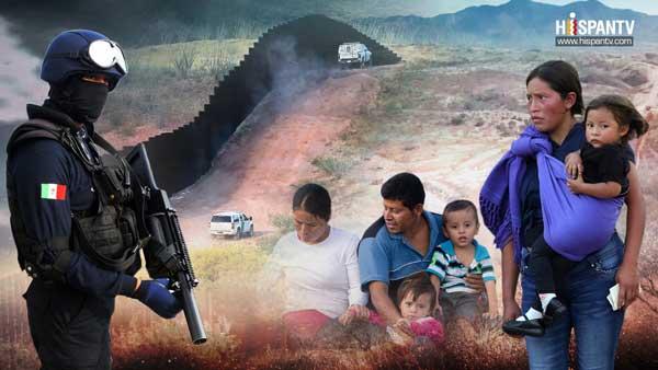 Grupos criminales en México provocan migración como en Siria