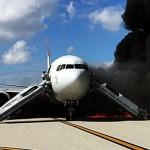 Se incendia en Florida un avión de pasajeros con destino a Caracas