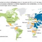 México: entre los países donde se censura y vigila en el Internet