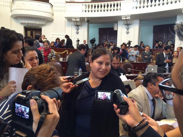 Diputada Citlalli Hernández de morena le dice sus