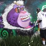 Arte urbano, da color a la ciudad gris y es alternativa a problemas sociales