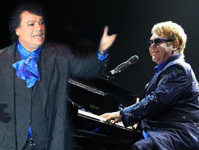 Juan Gabriel y Elton John
