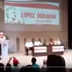 Infiltrados del PRI en asamblea de López Obrador en Culiacán (video)