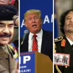 El mundo sería más seguro con Gadafi y Sadam Hussein: Donald Trump