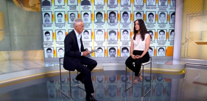 Julieta Venegas escribe una canción para Ayotzinapa y la injusticia (video)