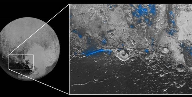 El cielo de Plutón es azul