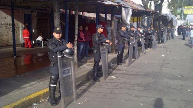 Cerco policiaco en Tepito contra la extorsión y el robo