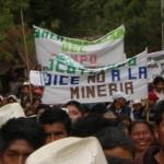 El gobierno protege a mineras de las protestas de pueblos indígenas