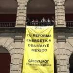 "Greenpeace a Peña Nieto: ""Mejor no vaya a París"""