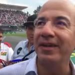 Aficionados de F1 llaman asesino a Felipe Calderón (Video)