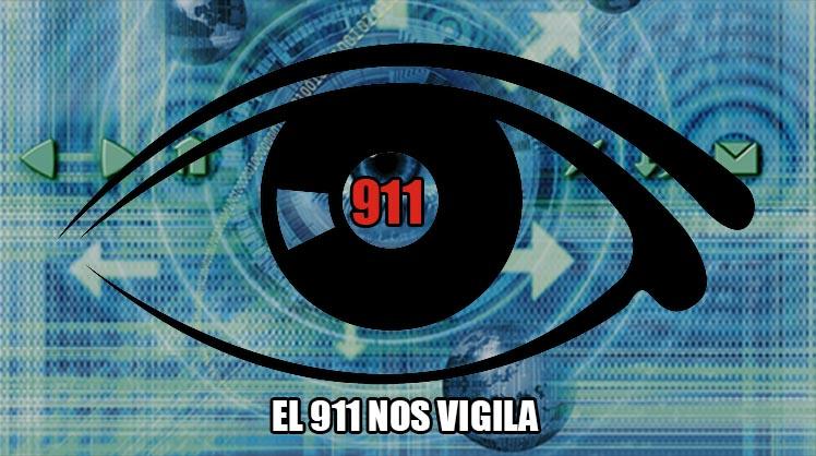Legalizan espionaje en México: el 911 nos vigila
