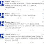 Esteban Arce se lanza contra el uso de la mariguana