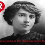 11 de noviembre nació Carmen Serdán