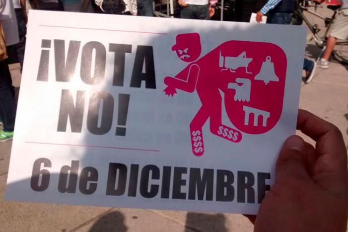 """Inician vecinos de la Delegación Cuauhtémoc, campaña """"No al CCChapultepec"""""""
