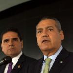 Aureoles prepara represión a maestros y policías comunitarios