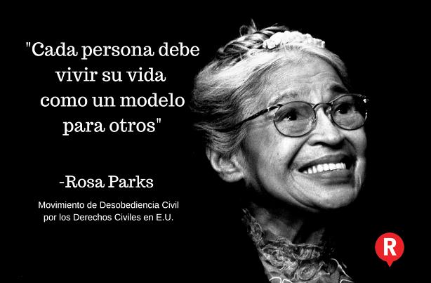 Rosa Parks decidió desobedecer, hoy hace 60 años