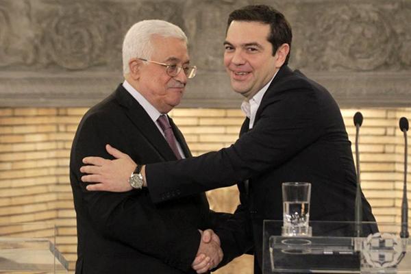 abbas tsipras Grecia reconoce como Estado soberano a Palestina 2