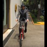 Roban bicicleta de 40 mil pesos a embajador de Alemania en el DF