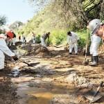 Minera de Baillères derrama químicos en Zacatecas; no suspende actividades