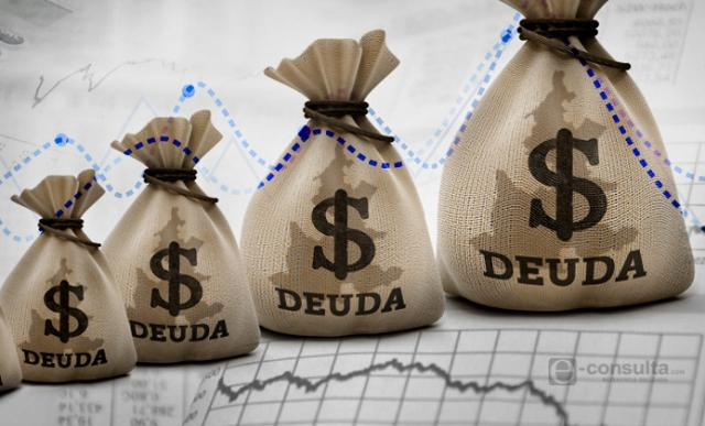 México encabeza lista de aumento en deuda pública en América Latina