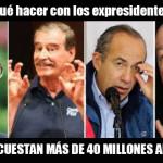 Expresidentes y Gurría los jubilados más caros del gobierno