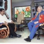 Fidel Castro envía mensaje a Nicolás Maduro