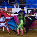 Torero sufre cornada en el corazón en la Plaza México (video)