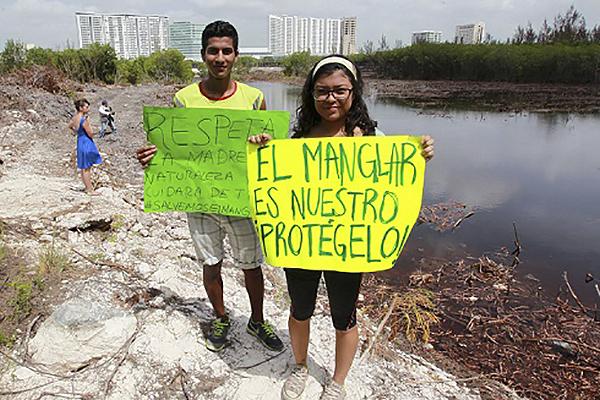 Luto nacional por los Manglares de Tajamar, declararon activistas
