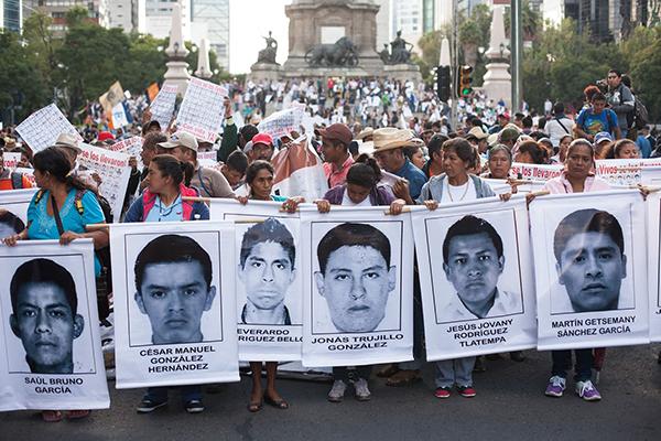 Hoy movilizaciones a 16 meses de la desaparición de los 43 estudiantes de Ayotzinapa