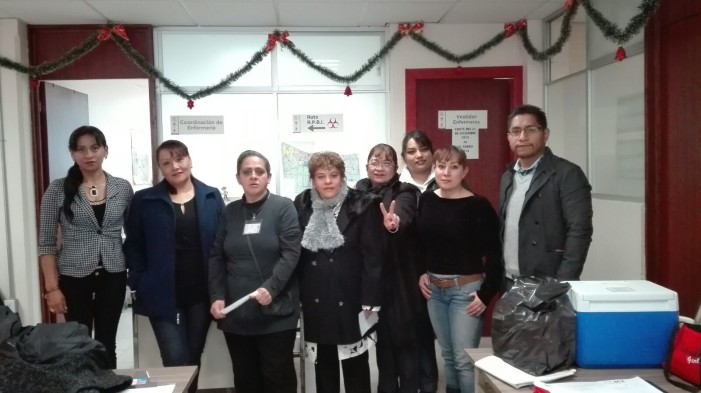 Enfermeras protestan por falta de uniformes y raquíticos salarios