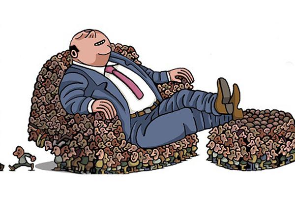 Ocho empresarios poseen fortuna equivalente al ingreso de 3 mil 600 millones de personas