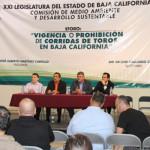 Logran avances contra las corridas de toros en Baja California