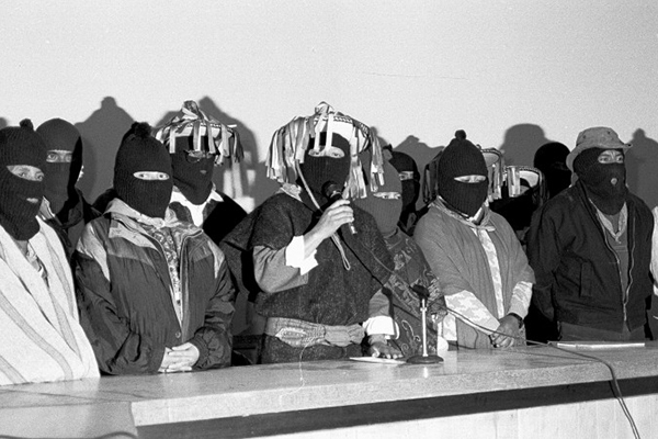 San Andrés 20 años después zapatistas