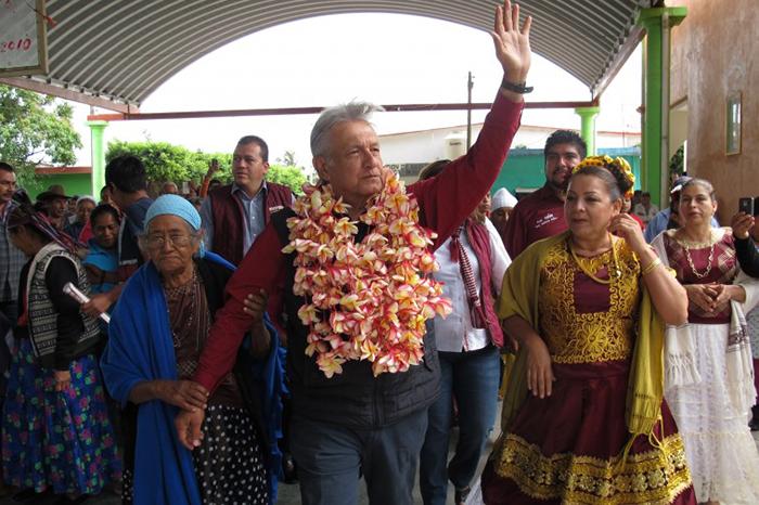 AMLO: Morena hará alianza con el movimiento social de Oaxaca