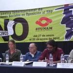 """""""Vienen por todo"""" con el TPP; es un golpe a los derechos de los pueblos"""