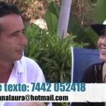 Hermano de Andrea Legarreta amenaza a ciudadano, es pluri del Verde
