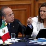 Calderón culpa a dirigencia del PAN que su esposa 'no le gane' a AMLO