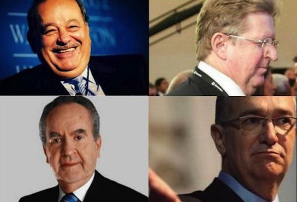 Cuatro multimillonarios mexicanos tienen equivalente al 9% del PIB en riqueza: Oxfam