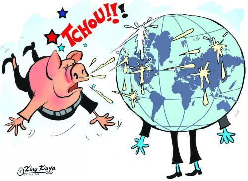 Gripe porcina deja centenares de muertos en el este de Europa