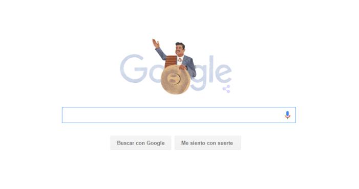 Google festeja a José Alfredo Jiménez