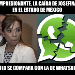 Los memes tras la caída Whatsapp