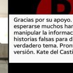 Muchos manipulan y fabrican historias falsas para distraer: Kate del Castillo