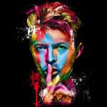Ilustraciones de Bowie después de su muerte