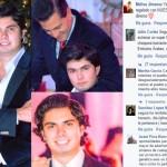 Peña Nieto felicita a su hijo, y provoca criticas en redes
